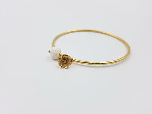 Bracelet JARDIN MÉDITERRANÉEN-fleur des calanques