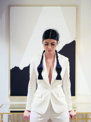 Made to Measure Women's Tuxedo.