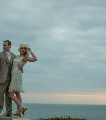Tan Gatsby Inspired Suit by Valentino Tailors