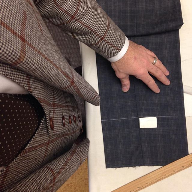 Valentino Tailors in Action.