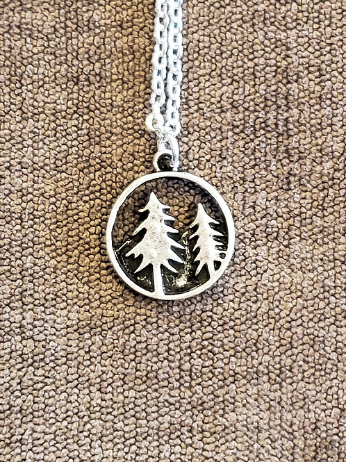 Small Tree Medallion