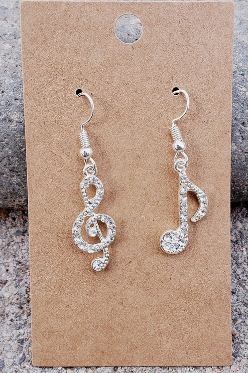 Sparkly Music Notes