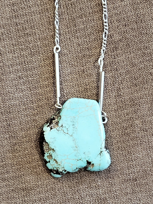 Turquoise Howlite Slab