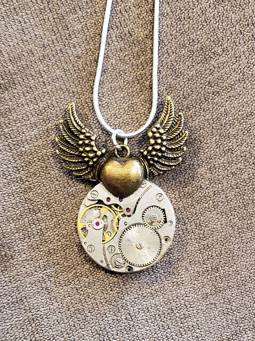 Heart with Wings Watch