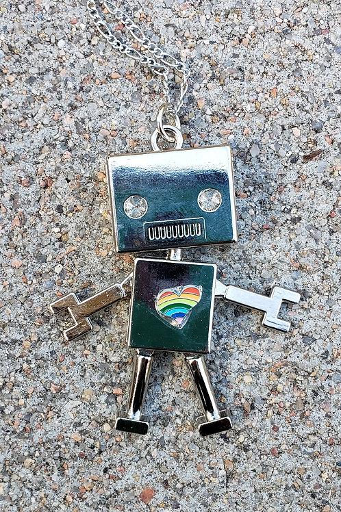 Rainbow Heart Robot