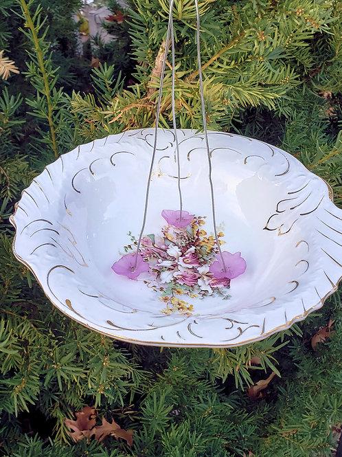 Vintage Orchid Bowl