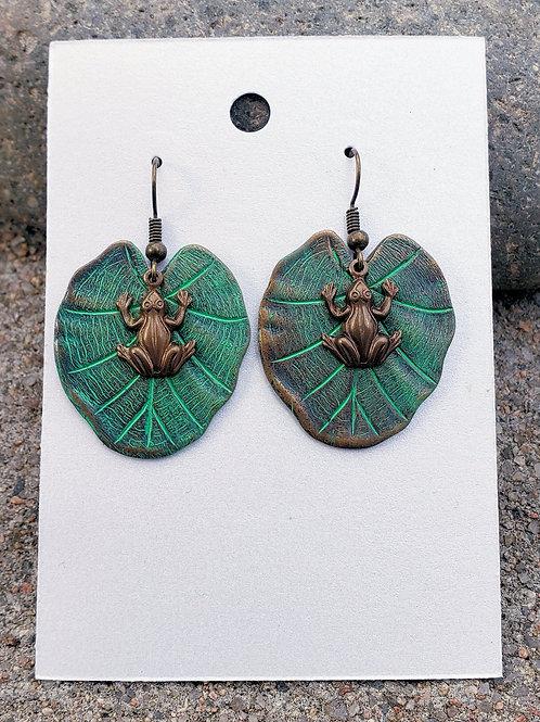 Copper Lilypads