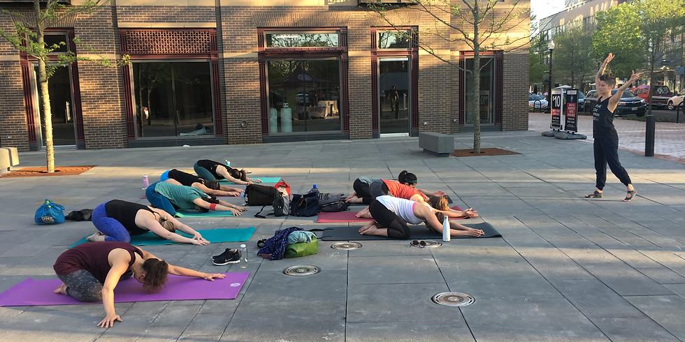 Public Yoga Class