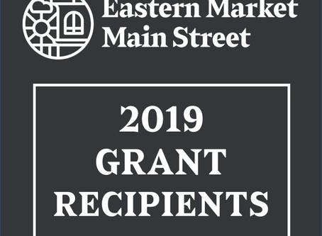 2019 Recipients of EMMS Grant Programs
