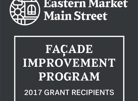 2017 Recipients of the Façade Improvement Grant Program