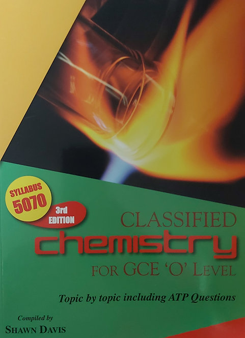 Classified Chemistry For Gce O Level