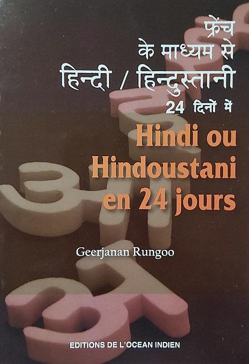 Hindi Ou Hindoustani En 24 Jours