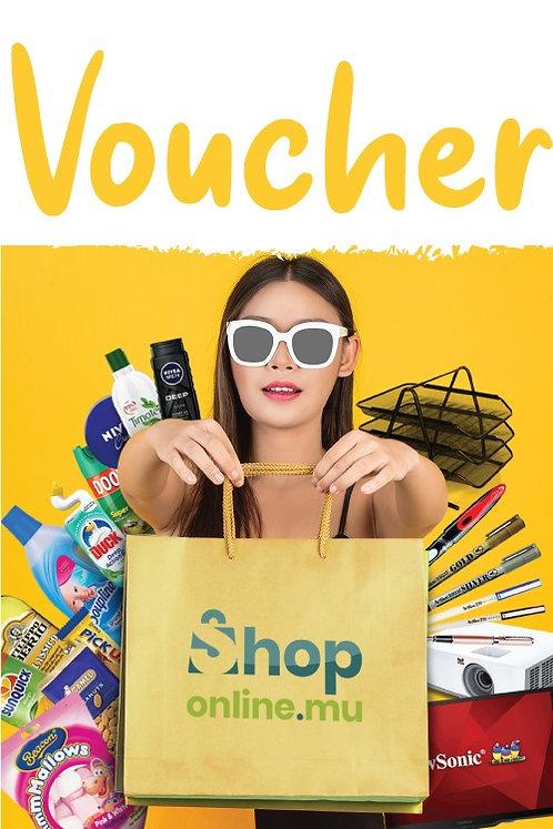 Shoponline.mu Gift Vouchers