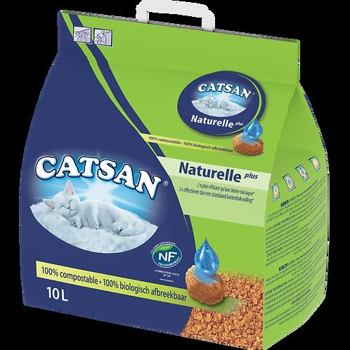 Catsan Naturelle Plus 10L