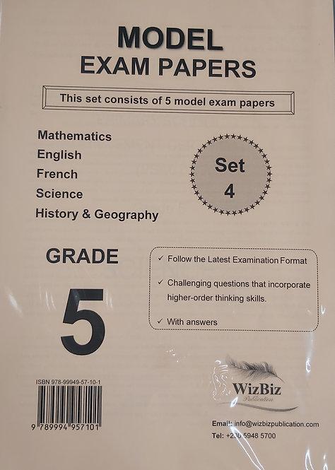 Mock Papers G5 (Set 4 Of 5 Model Exam Pp) Wizbiz