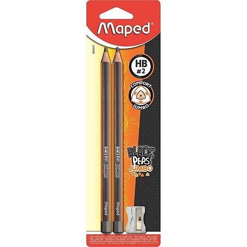 Maped Crayon Graphite Jumbo x2 Blister