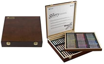 Mungyo Artist Soft Pastel 90 Colors - Wooden Case