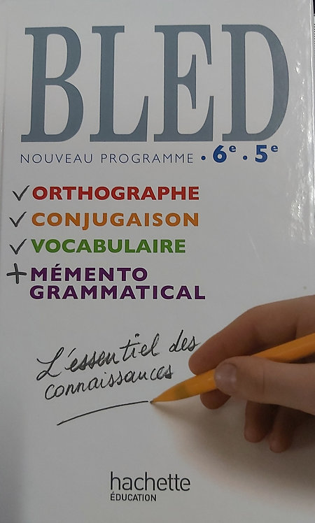 Bled 6/5eme (Grade 7)