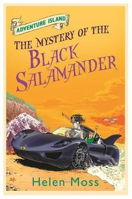 Adventure Island : The Mystery of The Black Salamander - Helen Moss