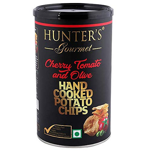 Hunter'S Cherry Tomatoes & Olives C.Chips 150g