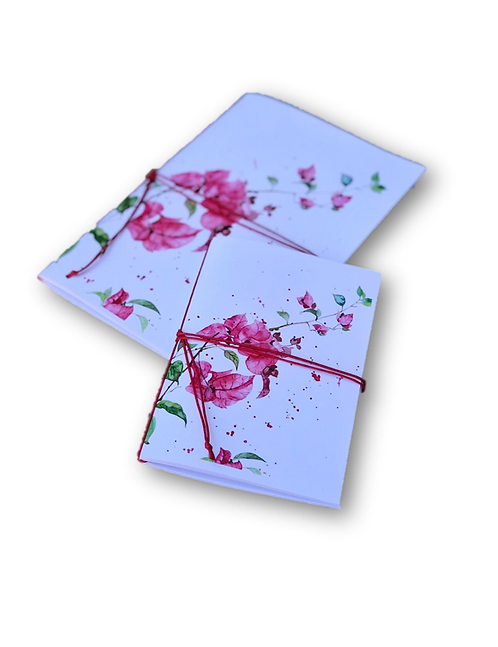 Notebook Bougainvillea (A5 & A7)-80pages