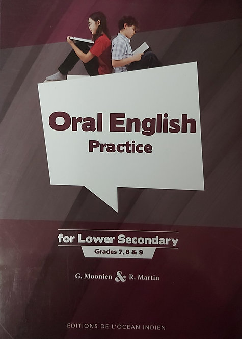 Oral English For Lower Secondary