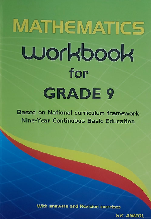 Mathematics Workbook Grade 9