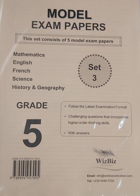 Mock Papers G5 (Set 3 Of 5 Model Exam Pp) Wizbiz