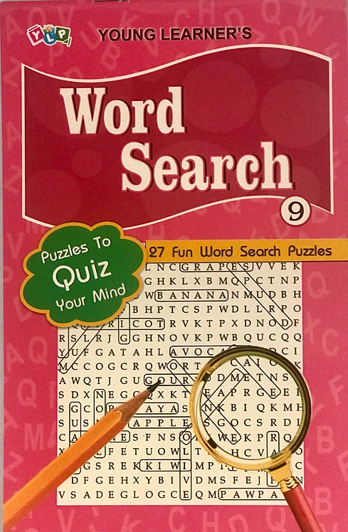 Word Search Puzzles Level 9