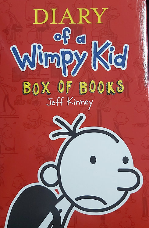 Diary of a Wimpy Kid Box of 12