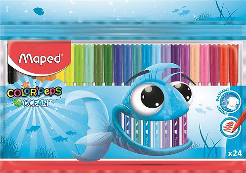 Maped Feutres Color Peps Ocean x24