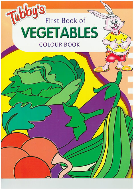 Tubbys First Bk Of Vegetables Colour Book