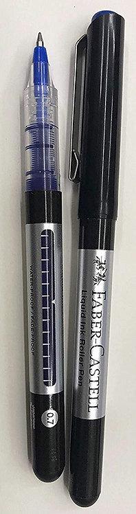 Liquid Ink Roller Pen Blue  0.7mm