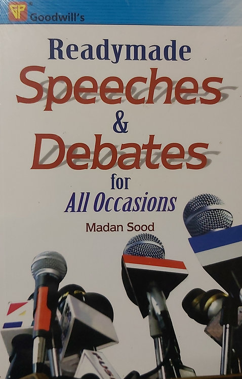 Readymade Speeches & Debates For All Occasions