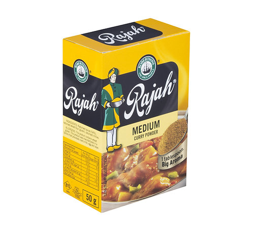 Rajah Curry Powder-Medium 100g