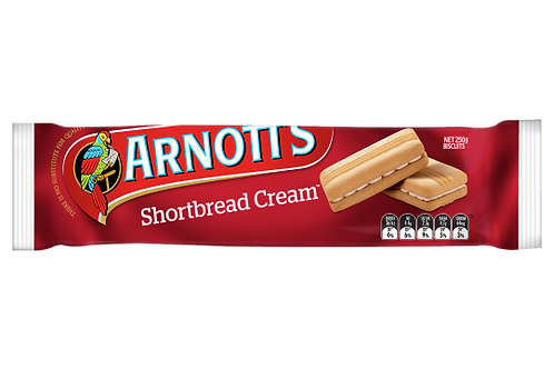 Arnotts Shortbread Cream 250g