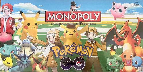 Monopoly Pokemon Go Board Game