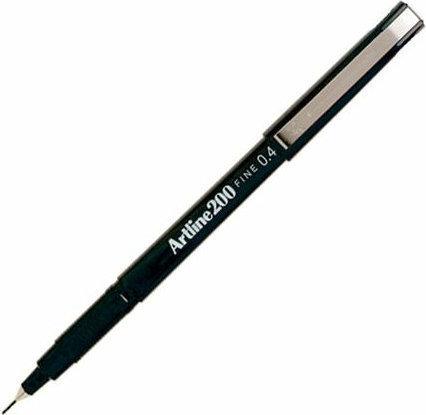 Artline 200 Writing Pen 0.4mm Black