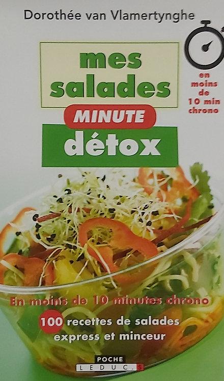 Mes salades minutes détox - D V Vlamertynghe