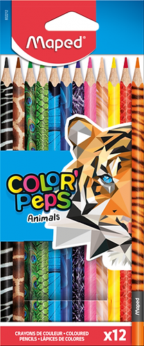 Maped Crayons Color Peps x12 Animal