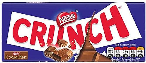 Nestle Crunch - Chocolats Au Lait