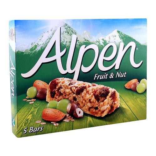Alpen Bars (5X28G) Fruit & Nut (140g)