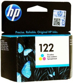 HP 122 Tri Color Ink Cartridge