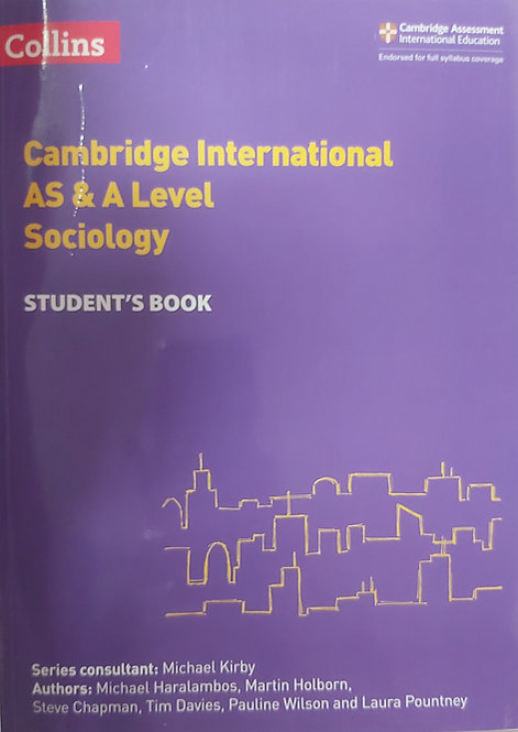 Collins- Sociology As & A Level