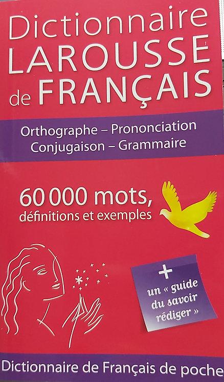 Larousse Dictionnaire De Francais 60 000 Mots
