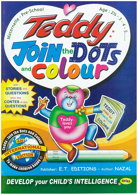 Teddy Join The Dots And Colour