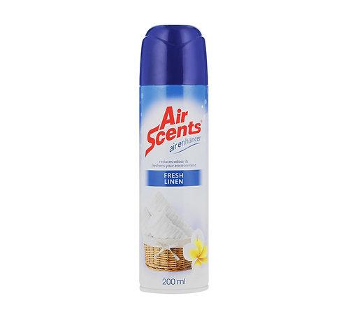 Air Scents Linen Aerosol 200ml