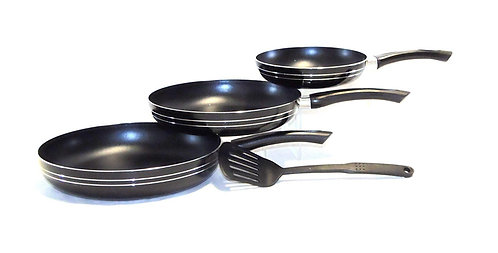 3 Pcs Frying pan set