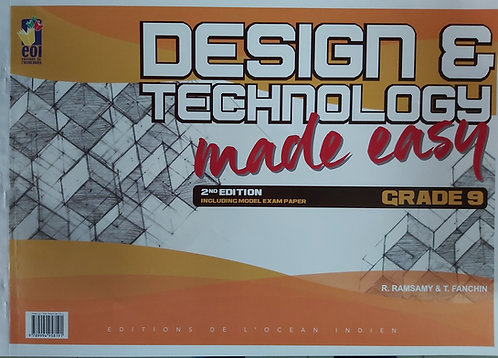 Design And Technology Made Easy Grade 9