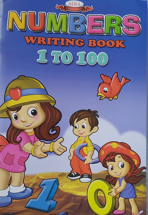 Numbers Writing Book 1 To 100